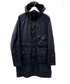 Barbour × White Mountaineering(バブアー×ホワイトマウンテニアリング)の古着「Apus Wax Jacket」|ブラック