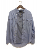 OLD PARK(オールドパーク)の古着「再構築デニムシャツ」|ライトインディゴ