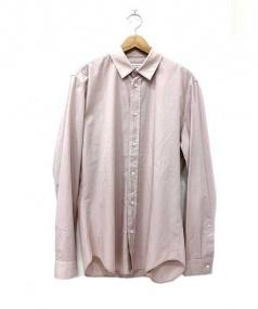 Martin Margiela 10(マルタンマルジェラ 10)の古着「L/S PLAIN SHIRT」 ピンク