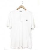 nonnative × Lacoste(ノンネイティブ×ラコステ)の古着「ノーカラーポロシャツ」|ホワイト