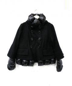 MONCLER PREMIERE(モンクレール プレミアム)の古着「SEATTLEレイヤードダウンジャケット」 ブラック