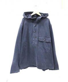 RRL(ダブルアールエル)の古着「プルオーバーフーデットジャケット」 ネイビー