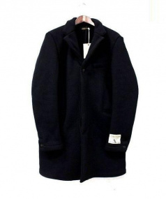 BROWNS BEACH JACKET(ブラウンズビーチジャケット)の古着「CHESTERFIELD COAT」 ブラック