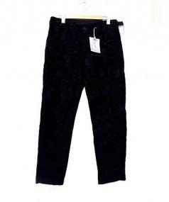Engineered Garments(エンジニアードガーメンツ)の古着「Cinch Pant - Embroidery」 ネイビー