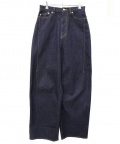Name.(ネーム)の古着「STRETCH DENIM WIDE PANTS (ONE 」|インディゴ