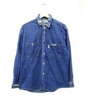 BLUE BLUE(ブルーブルー)の古着「デニムシャツ」|スカイブルー