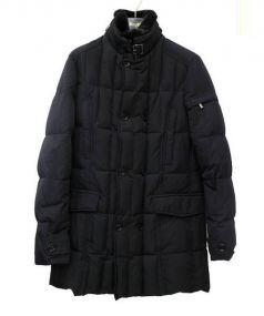 MOORER(ムーレー)の古着「MORRIS DOWN COAT」|ブラック