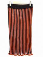 AKANE UTSUNOMIYA(アカネウツノミヤ)の古着「マーメイドリブニットスカート」|ライトブラウン