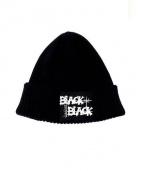 YOHJI YAMAMOTO×NEW ERA(ヨウジヤマモト×ニューエラ)の古着「BLACK and BLACK BEANIE」 ブラック