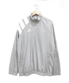 Gosha Rubchinskiy x adidas(ゴーシャラブチンスキー x アディダス)の古着「スリーストライプトップナイロンジャケット」|グレー