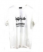 YohjiYamamoto pour homme × ALEXANDROS(ヨウジヤマモトプルームオム×アレキサンドロス)の古着「Tシャツ」 ホワイト