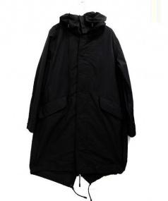 THE RERACS(ザ・リラクス)の古着「ロングモッズコート」|ブラック