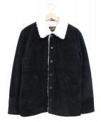 freedom(フリーダム)の古着「カウレザーランチジャケット」|ブラック