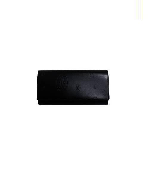 6e6a12b6aaac 中古・古着通販】Cartier (カルティエ) 長財布 ブラック サイズ:下記参照 ...