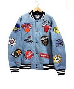 Supreme(シュプリーム)の古着「NBAチームウォームアップジャケット」|インディゴ