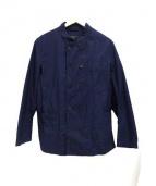 Engineered Garments × FREAKS STORE(エンジニアドガーメンツ×フリークスストア)の古着「スタンドカラーダブルジャケット」|ネイビー