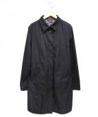 SONIA RYKIEL(ソニアリキエル)の古着「ステンカラーコート」|ブラック