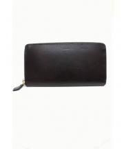 cocomeister(ココマイスター)の古着「ラウンドファスナー長財布」|ブラウン
