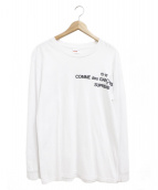 Supreme×COMME des GARCONS(シュプリーム×コムデギャルソン)の古着「15-16ロングスリーブTシャツ」