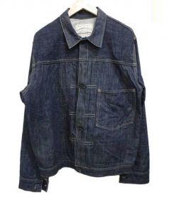 WAREHOUSE(ウエアハウス)の古着「ファーストタイプデニムジャケット」 インディゴ