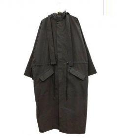 Craig Green(クレイグ・グリーン)の古着「オーバーサイズフーデットコート」|ブラック