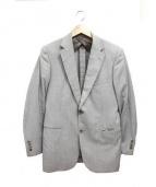 MACKINTOSH(マッキントッシュ)の古着「ストライプ2Bセットアップスーツ」|ベージュ