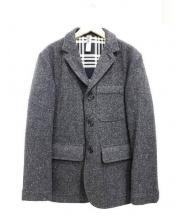 MHL.(エムエイチエル)の古着「ウールテーラードジャケット」|グレー