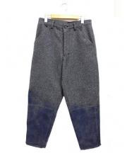 COMME des GARCONS SHIRT(コムデギャルソンシャツ)の古着「グラデーションパンツ」|グレー