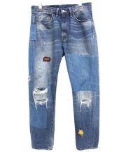 Levi's VINTAGE CLOTHING(リーバイスヴィンテージクロージング)の古着「1954年復刻リメイクデニムパンツ」|インディゴ
