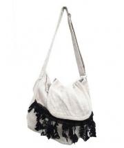 mina perhonen(ミナペルフォネン)の古着「プロペラショルダーバッグ」 ベージュ