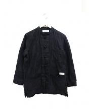 RUDE GALLERY(ルードギャラリー)の古着「パッチワークカンフージャケット」|ブラック