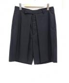 CLASS(クラス)の古着「タックショートパンツ」|ブラック