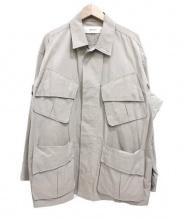 JANE SMITH(ジェーンスミス)の古着「ミリタリージャケット」|ベージュ
