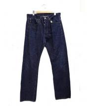 Levi's VINTAGE CLOTHING(リーバイスヴィンテージクロージング)の古着「1947年復刻ストレートデニムパンツ」|インディゴ