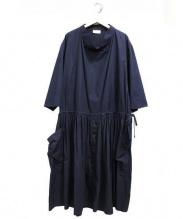 LEMAIRE(ルメール)の古着「ブラウスワンピース」 ネイビー