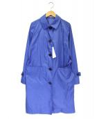 MACKINTOSH PHILOSOPHY(マッキントッシュフィロソフィー)の古着「ナイロントレンチコート」|ブルー