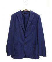 Gian Franco Bommezadri(ジャンフランコボメサドリ)の古着「ウール/モヘアブレンド2Bセットアップスーツ」|ネイビー