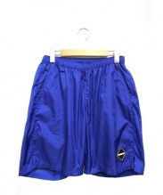 FCRB(エフシーレアルブリストル)の古着「ナイロンベーシックショートパンツ」|ブルー