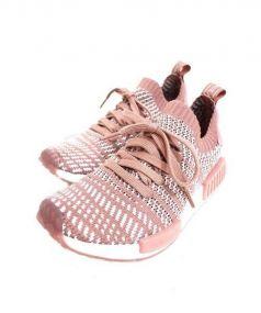 adidas(アディダス)の古着「ニットスニーカー」|ピンク