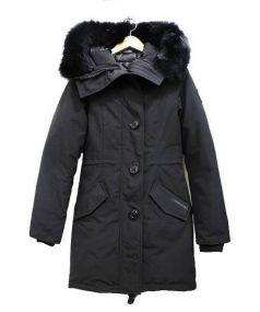 CANADA GOOSE × IENA(カナダグース × イエナ)の古着「ロスクレアパーカダウンコート」|ブラック