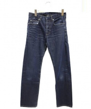 DIOR HOMME(ディオールオム)の古着「ストレートデニムパンツ」|インディゴ