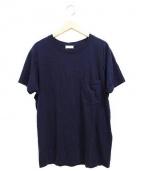 SAINT LAURENT PARIS(サンローラン パリ)の古着「ポケットTシャツ」 ネイビー