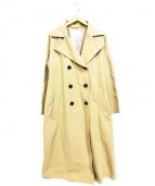 ANGLOBAL SHOP(アングローバルショップ)の古着「ロングトレンチコート」|ベージュ