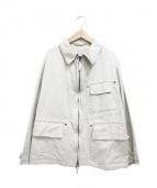 45R(フォーティファイブアール)の古着「おこめダックの908オーバージャケット」|ベージュ