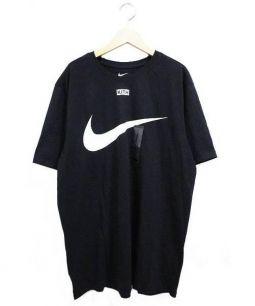 KITH × NIKE(キス×ナイキ)の古着「Swoosh Tee」|ブラック