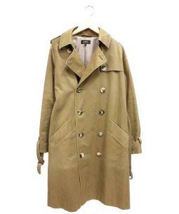 APC(アーペーセー)の古着「トレンチコート」 ブラウン