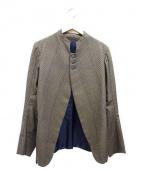 Nemeth(ネメス)の古着「チェックジャケット」|ブラウン