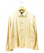 tricot COMME des GARCONS(トリココムデギャルソン)の古着「オールドコットンカバーオール」 ベージュ
