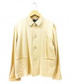 tricot COMME des GARCONS(トリコ コムデギャルソン)の古着「オールドコットンカバーオール」|ベージュ