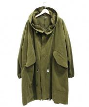 CLASS(クラス)の古着「オーバーパーカーコート -Brooklyn-」 カーキ